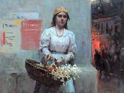Flower Girl, 1908