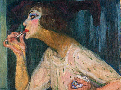 Lipstick, 1908
