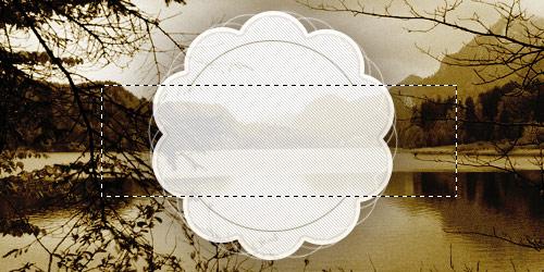 Создаем в фотошопе логотип-эмблему на винтажном фоне