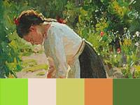 20 готовых цветовых палитр с картин художника Николая Пимоненко
