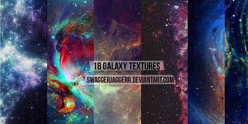 Скачать 18 Galaxy Textures