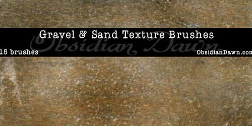 Скачать Gravel Rock And Sand Brushes