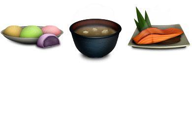 Скачать Japanese Food Icons By Sukritact