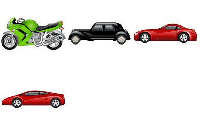 Скачать Transport Icons By Iconshow