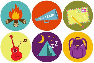 Скачать Brand Camp Icons By Thegirltyler