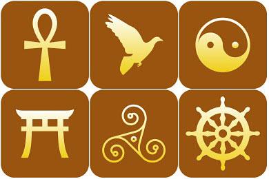 Скачать Religious Symbol Icons By Designbolts
