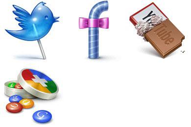 Скачать Social Treat Icons By Iconka