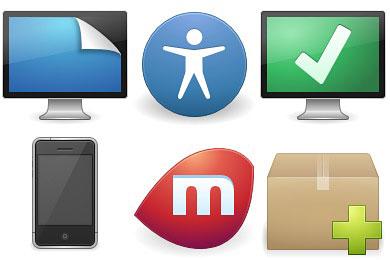 Скачать Elementary Icons By Danrabbit