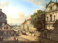 Средневековые города Европы от художника Бернардо Беллотто