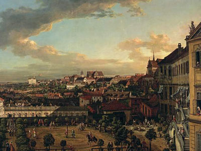 View of Warsaw