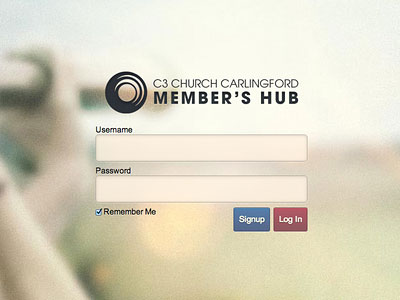 Wordpress Login Form by Ben Potter