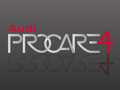 Audi Procare 4 service logo by miki zsengeller