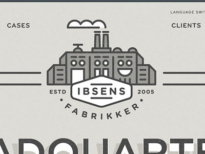 Ibsens Identity Website by adam hansel