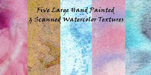 Скачать Watercolor Texture Pack