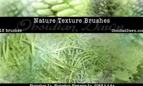 Скачать Nature Textures Ps Brushes