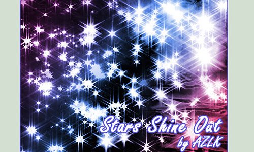 Скачать Brush Set Stars Shine Out
