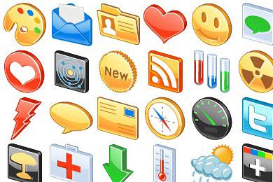 Скачать Free 3D Glossy Icons