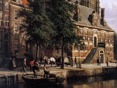 Перейти на The Oude Waag at the Westerkerk