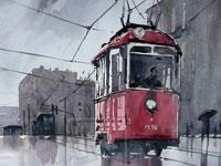 Акварельное очарование от художника Rafal Rudko из Польши