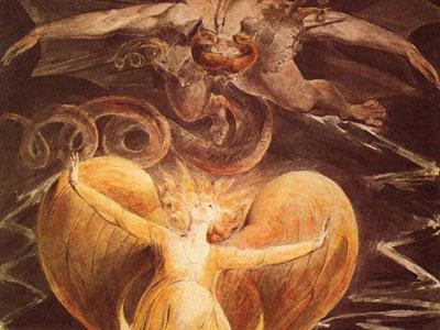 Перейти на Большой красный дракон и женщина