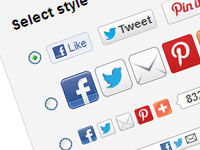 9 онлайн сервисов для размещения кнопок социального шаринга на сайте