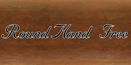 Скачать Roundhand Free