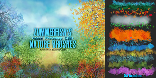 Перейти на Zummerfish S Nature Brushes