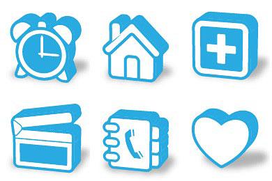 Перейти на Super Mono 3D Icons
