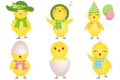 Перейти на Cute Chicken Icons