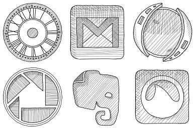 Перейти на Sketchy Icons