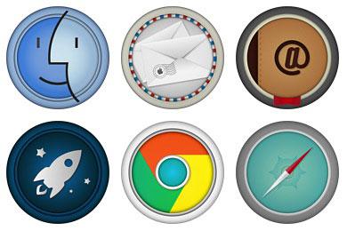 Перейти на Mac Apps Icons