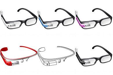 Перейти на Free Google Glass Icons