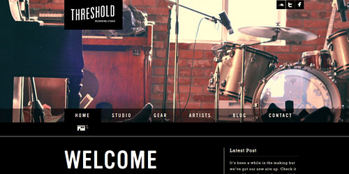 Перейти на Thre Shold Recording Studio