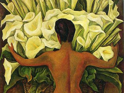 Перейти на Nude with Calla Lilies