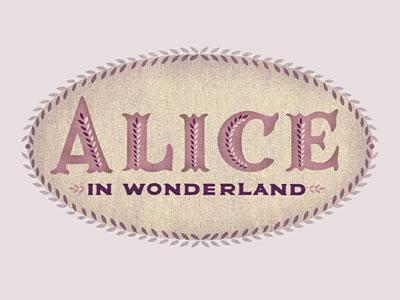 Alice in Wonderland logo