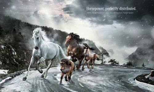 Перейти на Mercedes-Benz: Horsepower