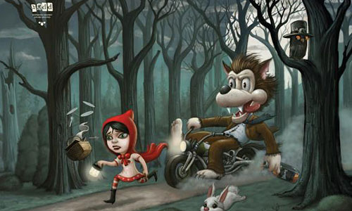 Перейти на Hispanic Against Drunk Driving: Little Red Riding Hood