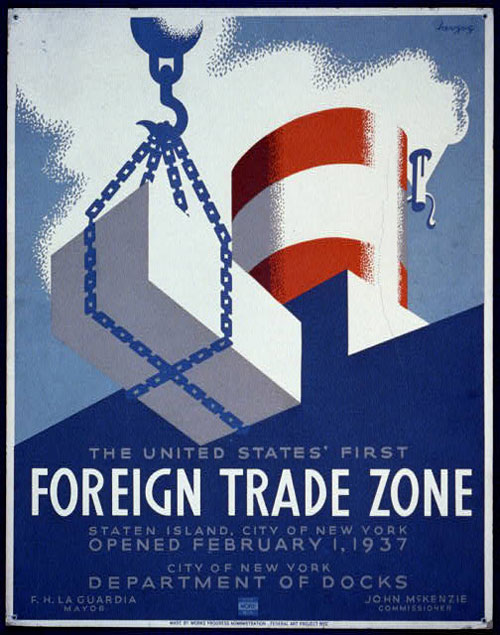 The United States' First Foreign Trade Zone