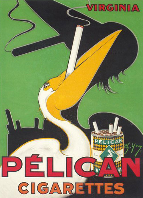 Pelican Cigarettes, Virginia