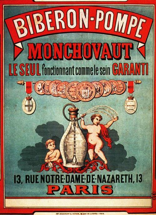 Biberon-Pompe Monchovaut