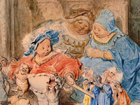 Изумительные сказочные иллюстрации от художника Гюстава Доре