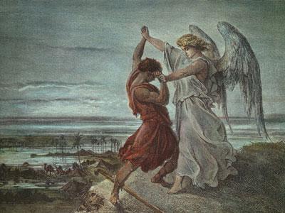 Перейти на Борьба Иакова с ангелом