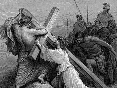 Перейти на Иисус падает под бременем Креста