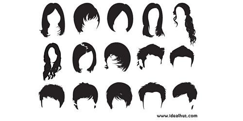 Скачать Photoshop Hair Brushes