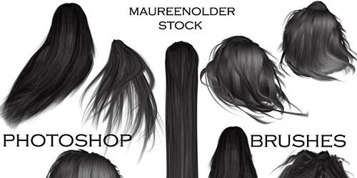 Скачать Stock Photoshop Brushes Hair