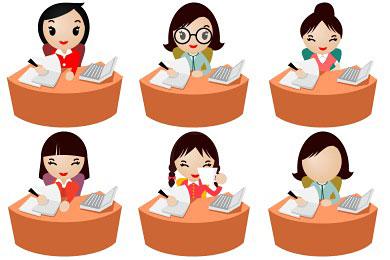 Скачать Office Women Icons