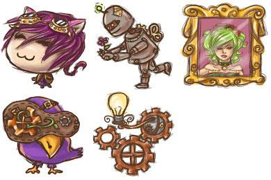 Скачать Steampunk Icons