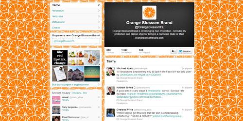 Перейти на @OrangeBlossomFL