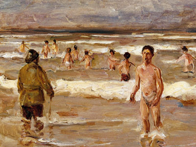 Перейти на Children Bathing in the Sea