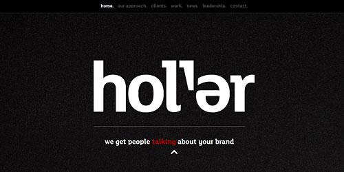 Перейти на Holler